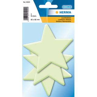 Herma Leuchtsticker Sterne