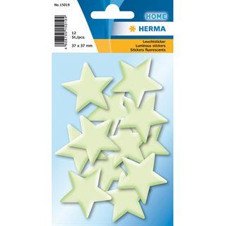 Herma Leuchtsticker Sterne Mini